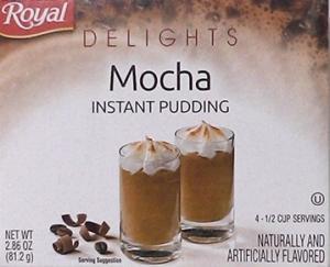 Royal Delights Mocha Pudding