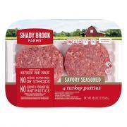 Shady Brook Farms Savory Turkey Patties
