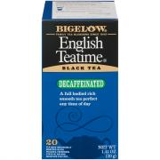 Bigelow Decaf English Tea Time Tea Bags