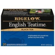 Bigelow English Tea Time Tea Bags