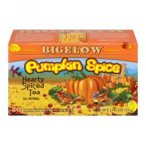 Bigelow Pumpkin Spice Autumn Tea Bags