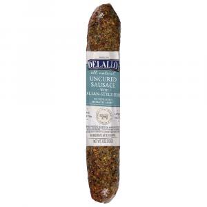 Delallo Italian Herb Italian-style Dry Cured Sweet Sausage