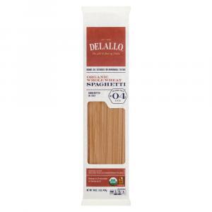 Delallo Organic Whole Wheat Spaghetti No. 4 Pasta