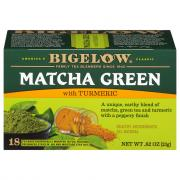 Bigelow Matcha Green with Turmeric