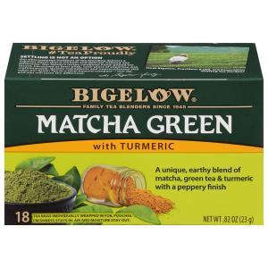 Bigelow Matcha Green with Turmeric