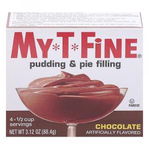 My-t-fine Chocolate Pudding
