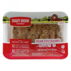Shady Brook Italian-style Seasoned Ground Turkey