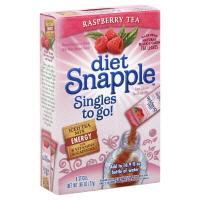 Snapple Singles To Go Diet Raspberry Tea