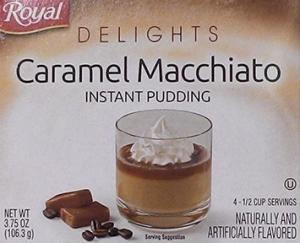 Royal Delights Caramel Macchiato Pudding