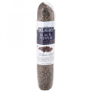 Delallo Black Pepper Italian-Style Dry Cured Sweet Sausage