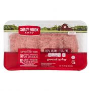 Shady Brook 85% Ground Turkey Family Pack