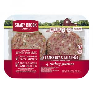 Shady Brook Farms Cranberry & Jalapeno Turkey Patties