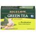 Bigelow Green Tea With Ginger Plus Priobotics Tea Bags