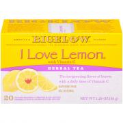 Bigelow I Love Lemon Herbal Tea Bags