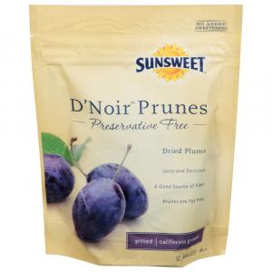 Sunsweet D'Noir Pitted Prunes Preservative Free