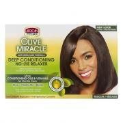 African Pride Growth Miracle Deep Conditioner No-Lye Relaxer