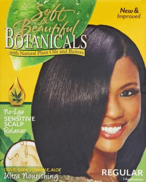 Soft & Beautiful Botanicals Regular Relaxer Kit - Sensitive