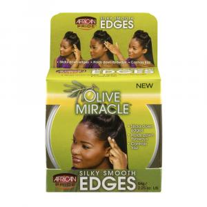 African Pride Olive Miracle Silky Smooth Edges Moisturizer
