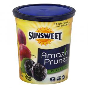 Sunsweet Pitted Dried Prunes Cannister
