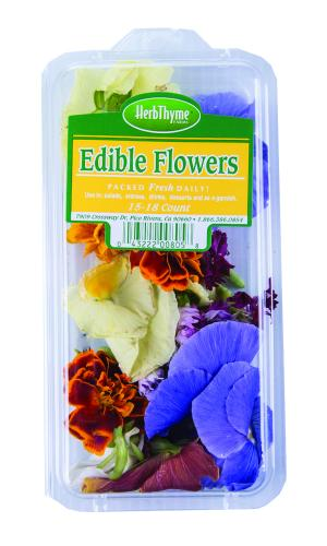 HerbThyme Edible Flowers
