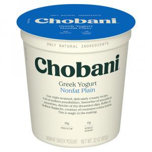 Chobani Plain Nonfat Yogurt