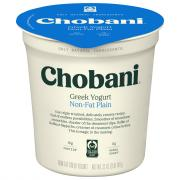 Chobani Plain Nonfat Yogurt