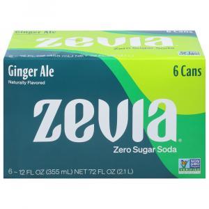 Zevia Natural Diet Ginger Ale