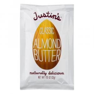 Justin's Natural Classic Almond Butter Squeeze Pack