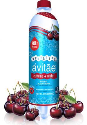 Avitae Sparkling Caffeine + Water Natural Black Cherry