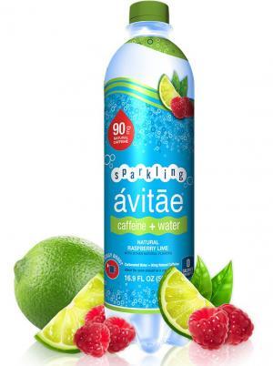Avitae Sparkling Caffeine + Water Natural Raspberry Lime