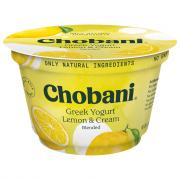 Chobani Greek Lemon Cup Yogurt