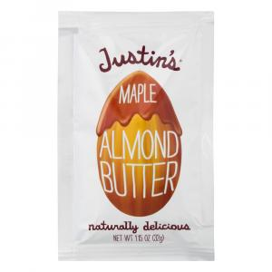 Justin's Natural Maple Almond Butter Squeeze Pack