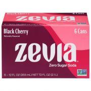Zevia Zero Calorie Black Cherry Soda