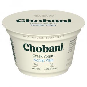 Chobani Greek Plain Nonfat Yogurt