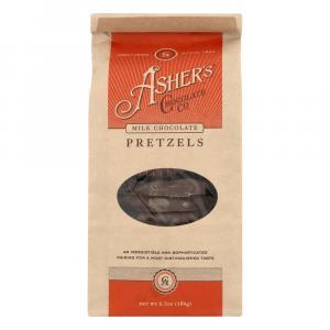 Asher's Milk Chocolate Pretzels