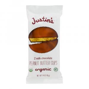 Justin's Organic Milk Chocolate Peanut Butter Cups