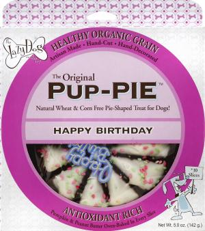 """Lazy Dog 6"""" Happy Birthday Pup-Pie For Dogs"""