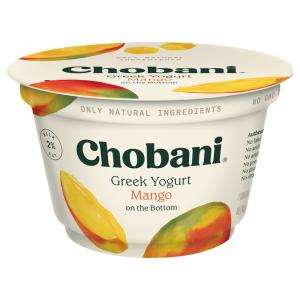 Chobani Mango Low Fat Greek Yogurt