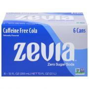 Zevia Zero Calorie Caffeine Free Cola