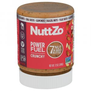 NuttZo Power Fuel Crunchy Paleo 7 Nut & Seed Butter