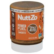 NuttZo Power Fuel Smooth Paleo 7 Nut & Seed Butter