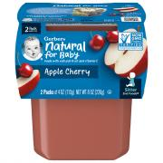 Gerber 2nd Foods Apple Cherry