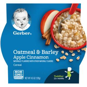 Gerber Graduates Breakfast Buddies Apple Cinnamon