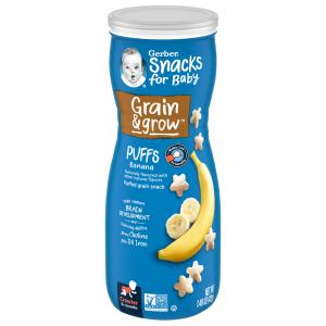 Gerber Graduates Banana Puffs