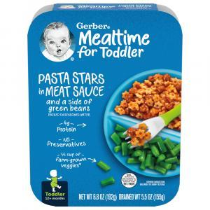 Gerber Graduates Lil' Entrees Stars & Meat Sauce