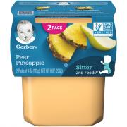 Gerber 2nd Foods Pears & Pineapple
