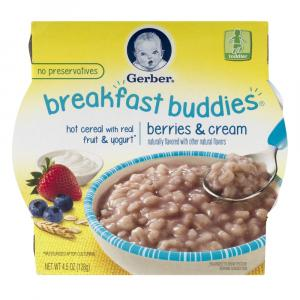 Gerber Graduates Breakfast Buddies Berries And Cream