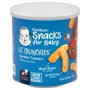 Gerber Graduates Lil' Crunchers Zesty Tomato Corn Snacks