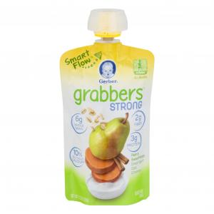 Gerber Grabbers Pear, Sweet Potato, Yogurt, Oats, Cinnamon