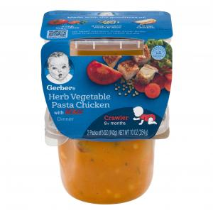 Gerber 3rd Foods Herb Vegetable, Pasta And Chicken
